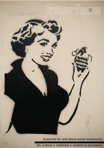 """Grenade is what you're having for dinner"". Street art from the Egyptian revolution"